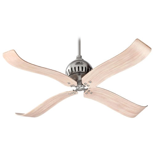 Quorum Lighting Quorum Lighting Jubilee Satin Nickel Ceiling Fan Without Light 90524-65