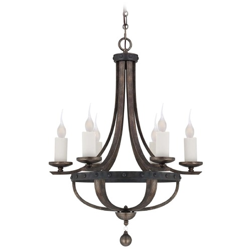 Savoy House Savoy House Reclaimed Wood Chandelier 1-9530-6-196