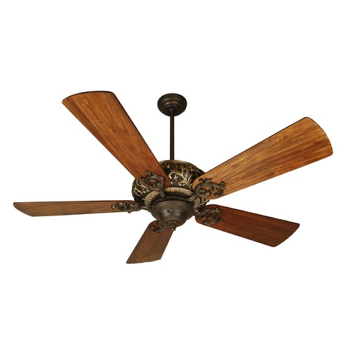 Craftmade Lighting Craftmade Lighting Ophelia Aged Bronze/vintage Madera Ceiling Fan Without Light K10273