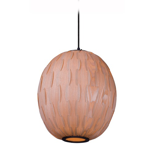 Maxim Lighting Maxim Lighting Norwood Black Pendant Light with Oblong Shade 12402UDBK