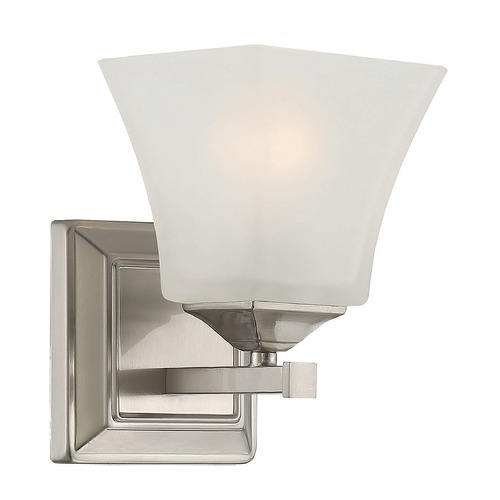 Savoy House Savoy House Lighting Castel Satin Nickel Sconce 9-2099-1-SN