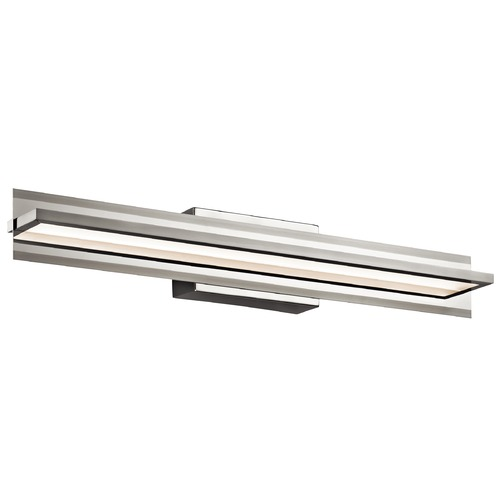 Elan Lighting Elan Lighting Rissel Satin Nickel LED Bathroom Light 83616