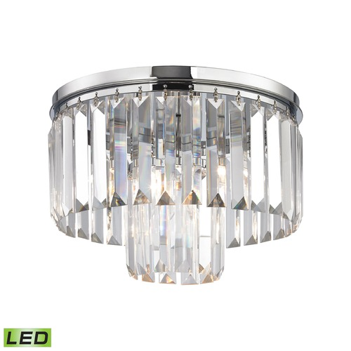 Elk Lighting Elk Lighting Palacial Polished Chrome LED Semi-Flushmount Light 15213/1-LED