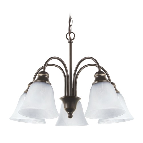 Sea Gull Lighting Sea Gull Lighting Windgate Heirloom Bronze LED Mini-Chandelier 35950EN3-782