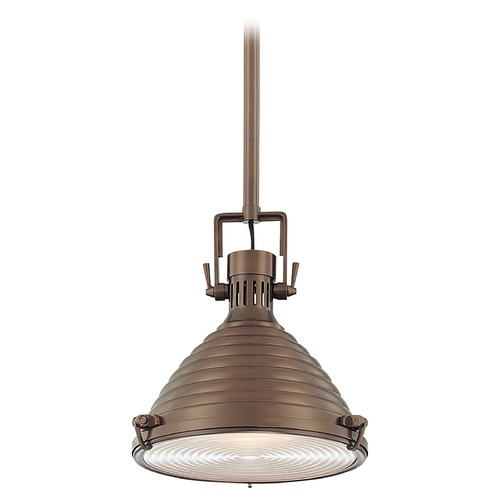 Hudson Valley Lighting Modern Pendant Light in Historic Bronze Finish 5111-HB