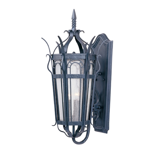 Maxim Lighting Maxim Lighting Cathedral Country Forge Outdoor Wall Light 30042CDCF