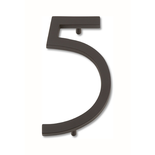 Atlas Homewares Bronze House Number AVN5-O