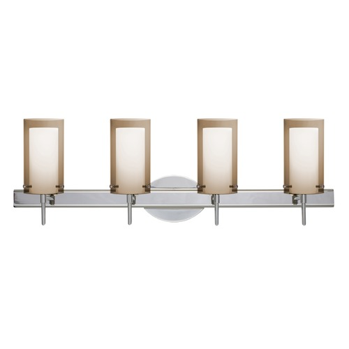 Besa Lighting Besa Lighting Pahu Chrome Bathroom Light 4SW-L44007-CR