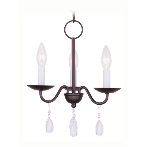 Livex Lighting Livex Lighting Mercer Bronze Crystal Chandelier 4843-07