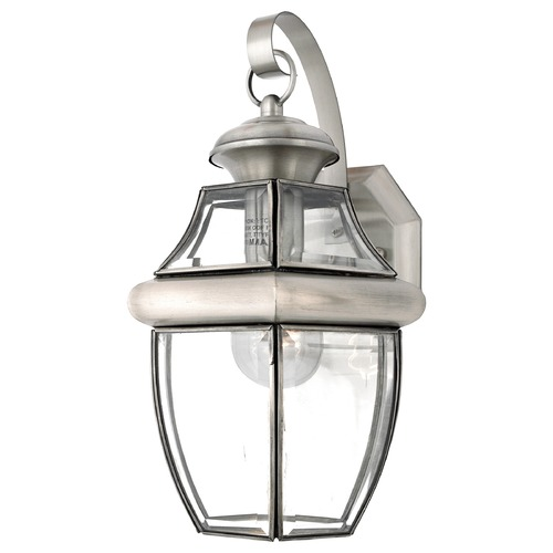 Quoizel Lighting Quoizel Newbury Pewter Outdoor Wall Light NY8316PFL