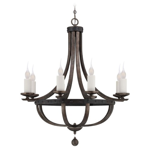 Savoy House Savoy House Reclaimed Wood Chandelier 1-9531-8-196