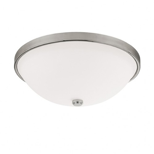 Capital Lighting Capital Lighting Polished Nickel Flushmount Light 2323MN-SW
