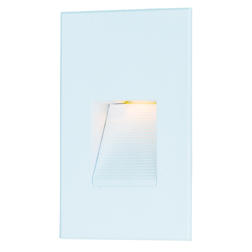 Maxim Lighting Maxim Lighting Path White LED Recessed Step Light 58002WT