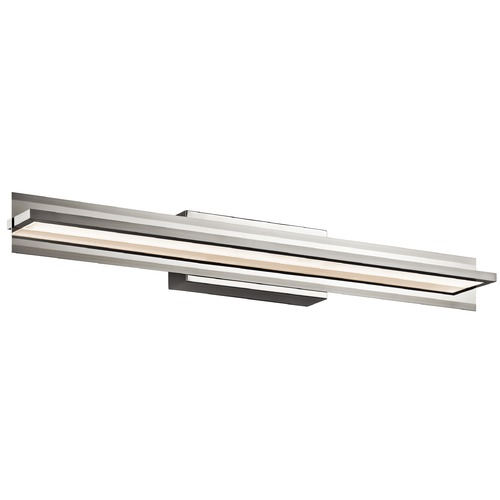 Elan Lighting Elan Lighting Rissel Satin Nickel LED Bathroom Light 83617