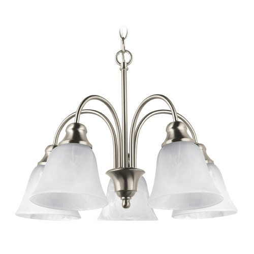 Sea Gull Lighting Sea Gull Lighting Windgate Brushed Nickel LED Mini-Chandelier 35950EN3-962