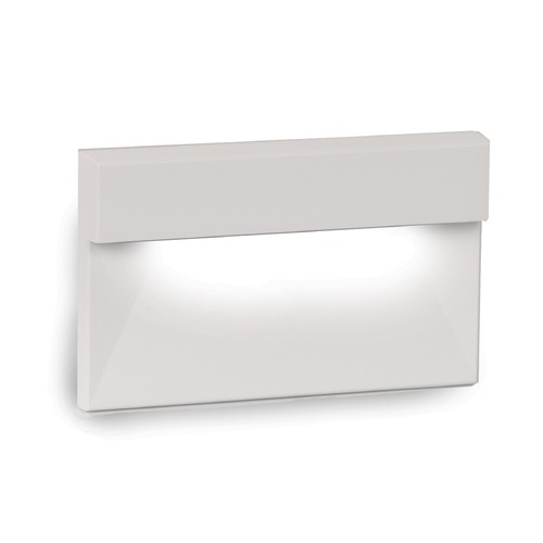 WAC Lighting LED Low Voltage Horizontal LED Low Voltage Step and Wall Light 4091-27WT