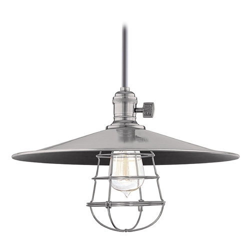 Hudson Valley Lighting Pendant Light in Historic Nickel Finish 9001-HN-MM1-WG