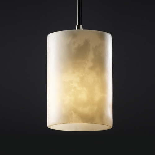 Justice Design Group Justice Design Group Clouds Collection Mini-Pendant Light CLD-8815-10-NCKL