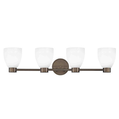 Design Classics Lighting Design Classics Lighting Aon Fuse Heirloom Bronze Bathroom Light 1804-62 GL1028MB