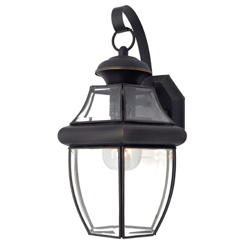 Quoizel Lighting Quoizel Newbury Medici Bronze Outdoor Wall Light NY8316ZFL
