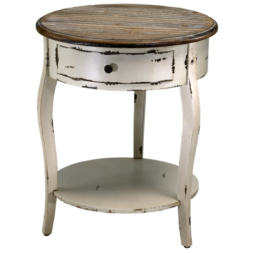 Cyan Design Cyan Design Abelard Distressed White & Gray Coffee & End Table 2469