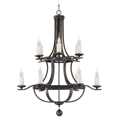 Savoy House Savoy House Reclaimed Wood Chandelier 1-9532-12-196