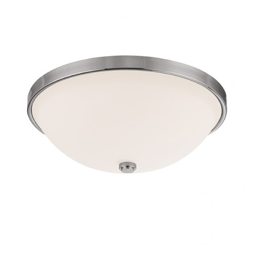 Capital Lighting Capital Lighting Polished Nickel Flushmount Light 2323PN-SW
