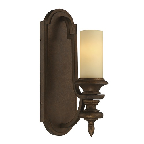 Savoy House Savoy House Lighting Castillo Midland Bronze Sconce 9-3072-1-65