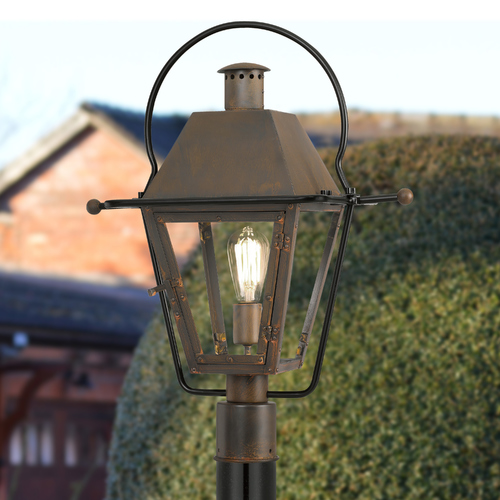 Quoizel Lighting Quoizel Lighting Rue De Royal Industrial Bronze Post Light RO9018IZ