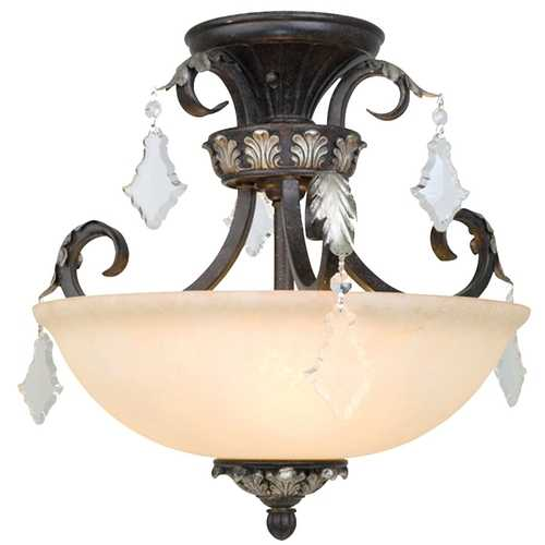 Dolan Designs Lighting Semi-Flush Ceiling Light 2105-148
