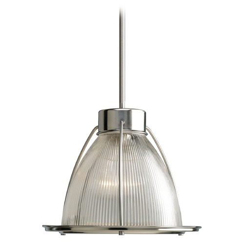 Progress Lighting Progress Modern Pendant Light with Clear Glass P5182-09