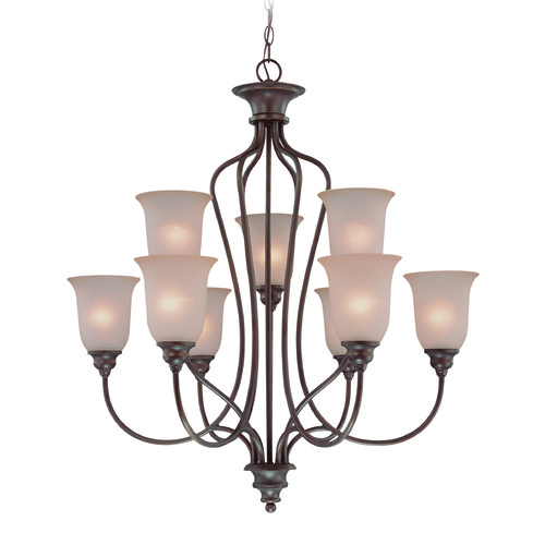 Jeremiah Lighting Jeremiah Linden Lane Old Bronze Chandelier 26329-OB