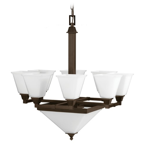 Sea Gull Lighting Sea Gull Lighting Denhelm Burnt Sienna Chandelier 3250410-710
