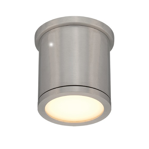 WAC Lighting WAC Lighting Tube Brushed Aluminum LED Close To Ceiling Light FM-W2605-AL