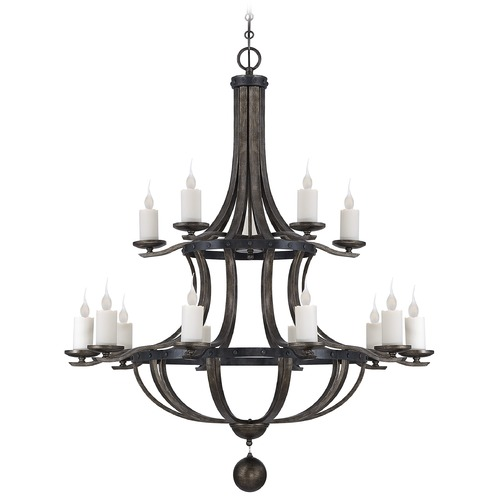 Savoy House Savoy House Reclaimed Wood Chandelier 1-9533-15-196
