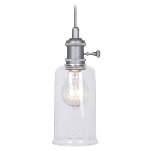 Jeremiah Lighting Jeremiah Lighting Aged Galvanized Mini-Pendant Light P515AGV1