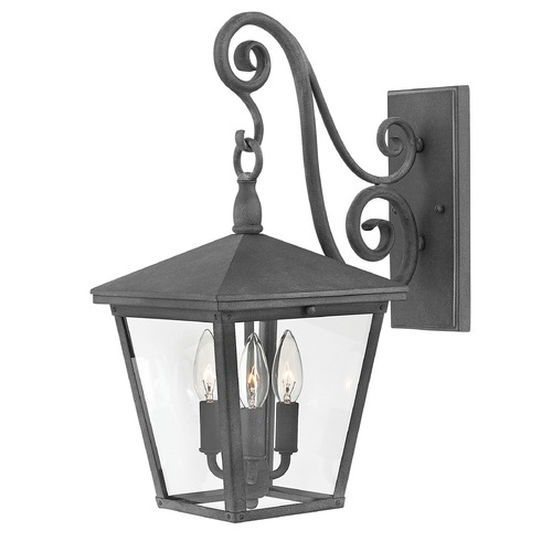 Hinkley Aged Zinc LED Outdoor Wall Light by Hinkley 1434DZ-LL