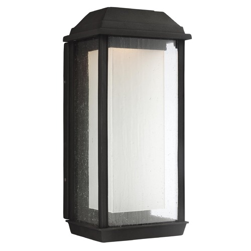 Feiss Lighting Feiss Lighting Mchenry Textured Black LED Outdoor Wall Light OL12802TXB-L1