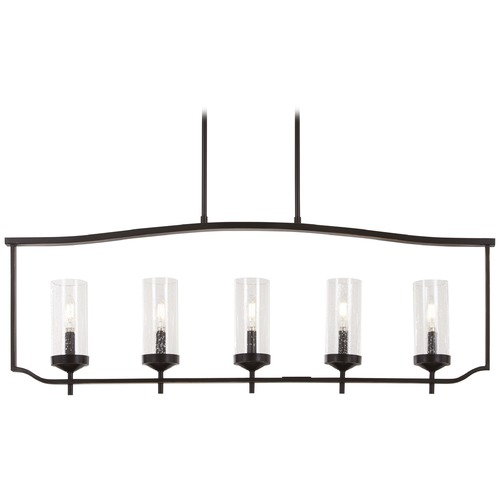 Minka Lavery Minka Lavery Bronze with Gold Highlight Island Light with Cylindrical Shade 4645-579