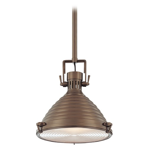 Hudson Valley Lighting Modern Pendant Light in Historic Bronze Finish 5115-HB
