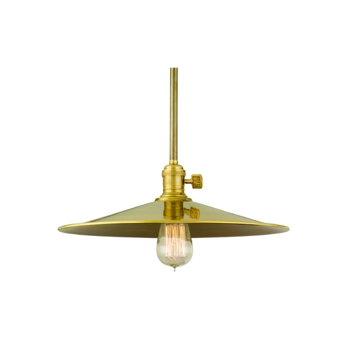 Hudson Valley Lighting Pendant Light in Polished Nickel Finish 9001-PN-MM1-WG