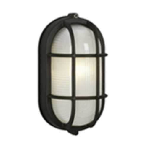 Arm Oval Glass Wall Light