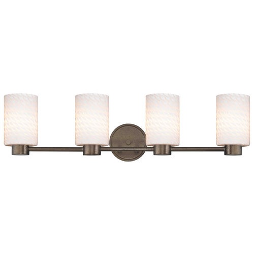 Design Classics Lighting Lighting Aon Fuse Heirloom Bronze Bathroom Light 1804-62 GL1020C