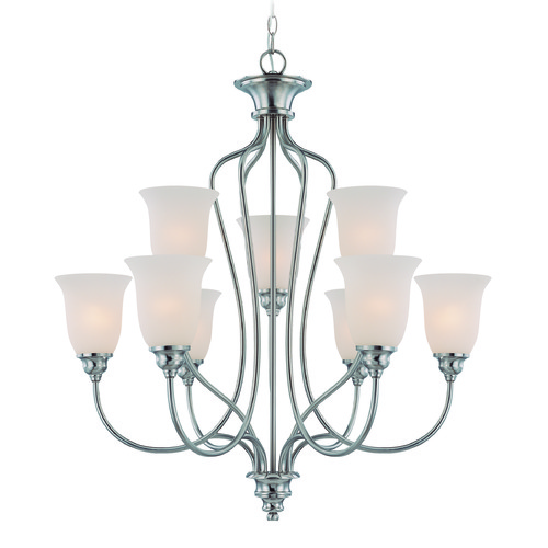Jeremiah Lighting Jeremiah Linden Lane Satin Nickel Chandelier 26329-SN