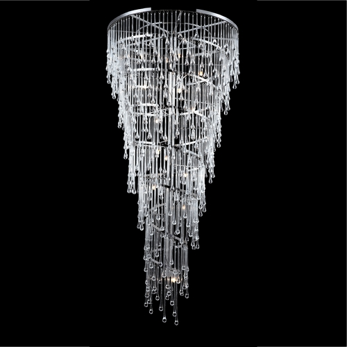 Avenue Lighting Avenue Lighting Hollywood Blvd Polished Nickel Pendant Light HF1805-PN