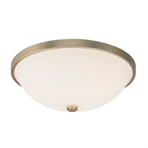 Capital Lighting Capital Lighting Winter Gold Flushmount Light 2323WG-SW