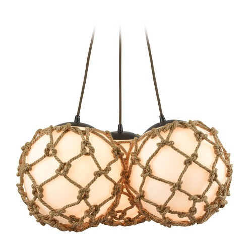 Elk Lighting Elk Lighting Coastal Inlet Oil Rubbed Bronze Chandelier 10710/3SR