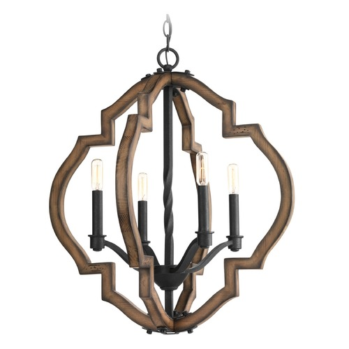 Progress Lighting Progress Lighting Spicewood Gilded Iron Pendant Light P4766-71