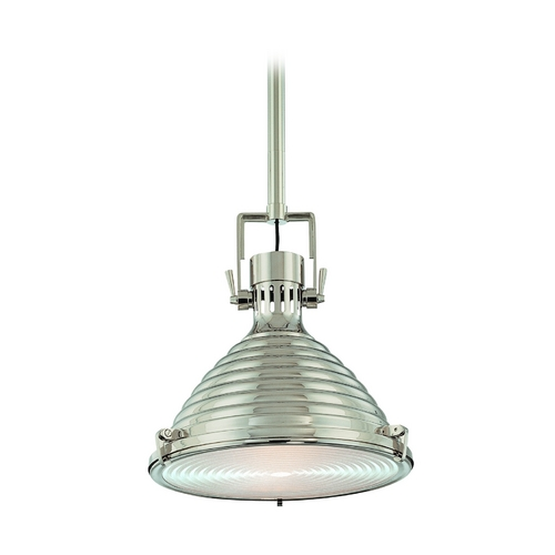 Hudson Valley Lighting Modern Pendant Light in Polished Nickel Finish 5115-PN