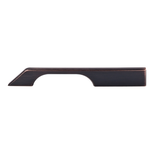 Top Knobs Hardware Modern Cabinet Pull in Tuscan Bronze Finish TK15TB